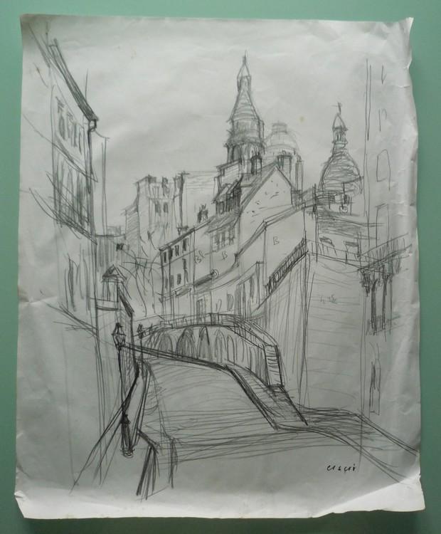 Paris - Vue de Montmartre