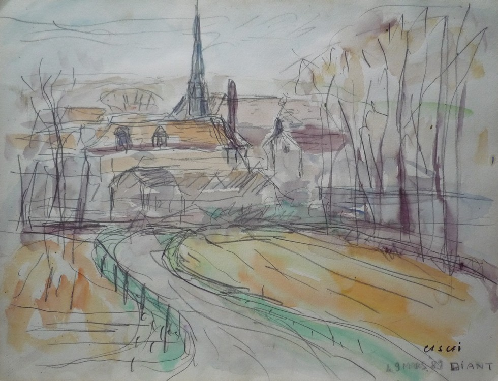 Vue de Diant #2 (Seine-et-Marne)