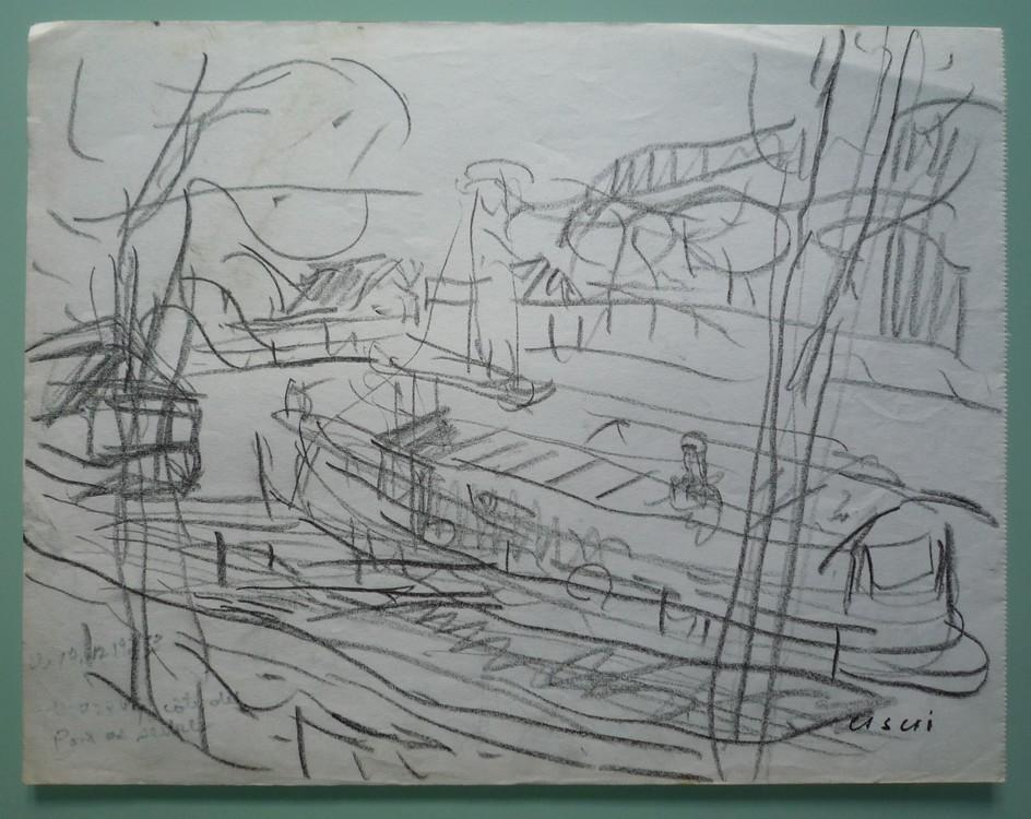 P�niche amarr�e pr�s du Pont de S�vres #2