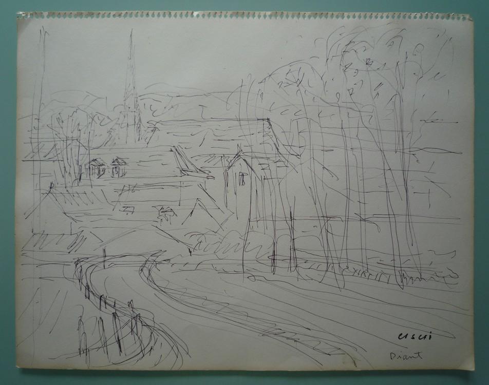 Vue de Diant (Seine-et-Marne)