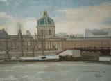 Paris - La Seine et  l'Académie française