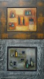 Natures mortes | Lot de 2 tableaux #1