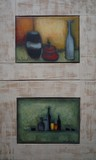 Natures mortes | Lot de 2 tableaux #2
