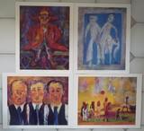 Ensemble de 4 posters