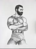 Nu masculin #9