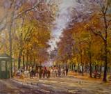Paris - Jardin du Luxembourg  - Les poneys