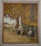 Paris - Le Jardin du Luxembourg à l'automne