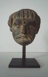 ART GRECO-BOUDDHIQUE - Tête d'homme