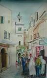 Algérie - Alger, scène animée dans la Casbah #1