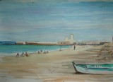 Algérie - La plage près d'Alger