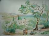 Algérie - Maison sur les hauteurs d'Alger