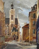 Paris - Eglise Saint-Etienne-du-Mont