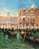 Venise #10 - Gondoles sur la lagune