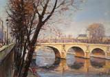 Paris - Le Pont Marie