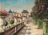 Paris - Lauriers en fleurs au Jardin du Luxembourg