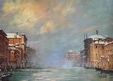 Venise #12 - Le Grand Canal en hiver