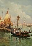 Venise #13 - Embarquement sur les gondoles