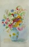 Louise PICARD - Fleurs dans un vase