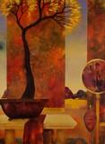 Intérieur à l'arbre d'or