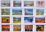 Lot de 100 cartes postales [tirage 1000 ex.]