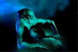 Eclats de vert, ombres bleues #5