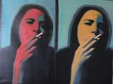 La fumeuse
