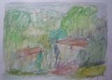 Paysage de Provence - Les bastides