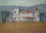 Paysage de Provence - Une bastide
