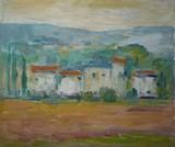 Paysage de Provence - Le hameau