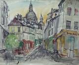 Vue de Paris - Montmartre