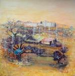 Provence - Village de Lussan dans le Gard