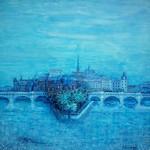 Vue de Paris - Le Pont Neuf #2