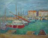 Bateaux dans un port de Méditerranée