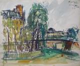Vue de Paris - La Seine et les quais