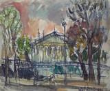 Vue de Paris - Le Palais Bourbon