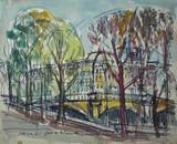 Vue de Paris - Le Pont de la Concorde
