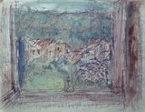 Le village vu de la fenêtre