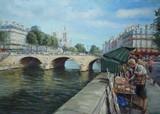 Paris - Notre-Dame, la Seine et les bouquinistes
