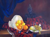 Nature morte au bouddha