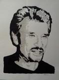 Jean-Luc PIEDDESAUX (?-2012) - Johnny Hallyday