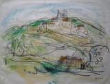 Le village sur la colline