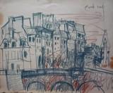 Vue de Paris - Le Pont Neuf