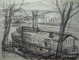 Péniche amarrée près du Pont de Sèvres #1