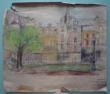 Vue de Paris #1 Rue du Temple | oeuvre double face