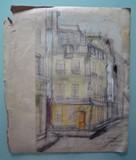 Vue de Paris #2 Rue du Poitou | oeuvre double face