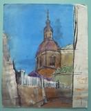 Espagne - Une église de Tolède