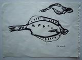 Etude de nature morte aux poissons