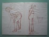 Etude de nu à la chaise | au verso : Nu debout
