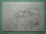 Vue de Gignac, Luberon (Vaucluse)