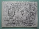 Paysage à l'arbre | au verso : Paysage